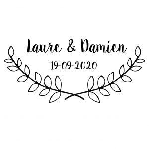 logo personnalisé mariage le havre